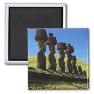 Rapa Nui artifacts, Easter Island Square Magnet
