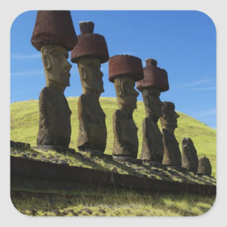 Rapa Nui artifacts, Easter Island Square Sticker