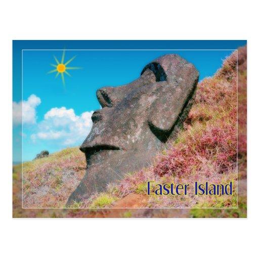 Rapa Nui, Easter Island Post Card