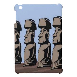 Rapa nui island statues cover for the iPad mini