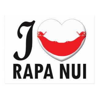 Rapa Nui Love Postcard