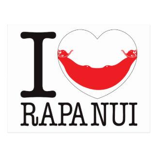 Rapa Nui Love v2 Postcards