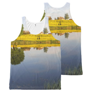 Rapeseed field All-Over print tank top