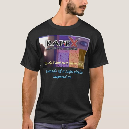 RapeX Promotional black shirt