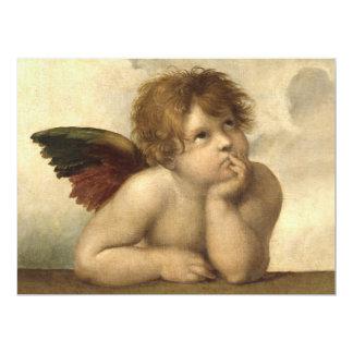 Raphael Angel 1 17 Cm X 22 Cm Invitation Card