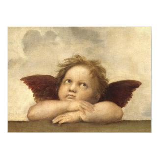 Raphael Angel 2 17 Cm X 22 Cm Invitation Card