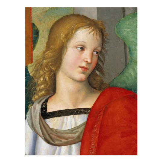 Raphael Angel from the Baronci altarpiece CC0840 Postcard