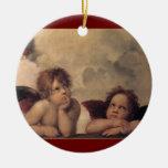 Raphael Cherubs Christmas Ornament