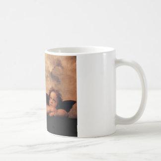Raphael Cherubs Sistine Madonna 2 Angels Basic White Mug