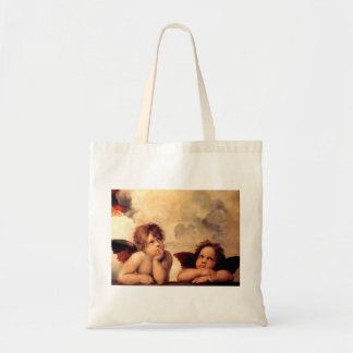 Raphael Cherubs Sistine Madonna Tote Bag