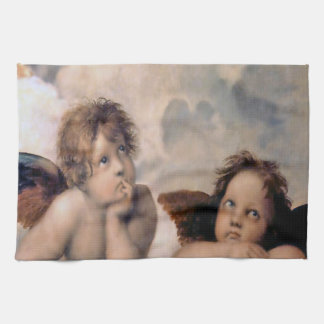 Raphael Italian Cherub Angels Kitchen Towel