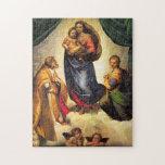 Raphael Madonna & Child Christmas Puzzle