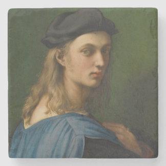 Raphael - Portrait of Bindo Altoviti Stone Coaster