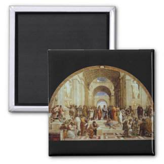 Raphael s The School of Athens circa 1511 Fridge Magnets