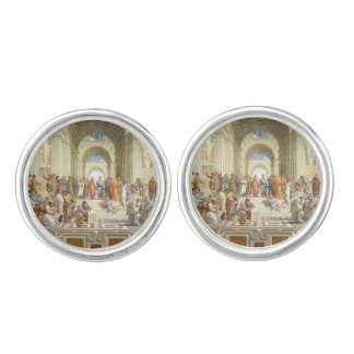 Raphael's The School of Athens Cuff Links
