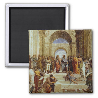 Raphael s The School of Athens Detail circa 1511 Refrigerator Magnets