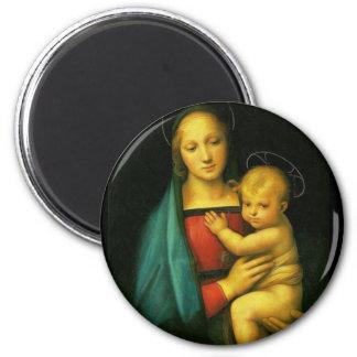 Raphael Sanzio - Madonna del Granluca Magnet