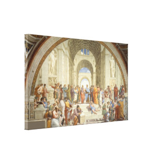 Raphael - School of Athens Canvas Print
