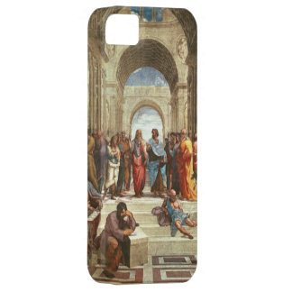 Raphael - School of Athens, famous painting Barely There iPhone 5 Case