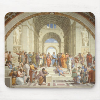 Raphael - School of Athens Mouse Mat