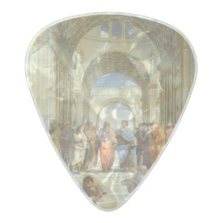 Raphael - School of Athens Pearl Celluloid Guitar Pick