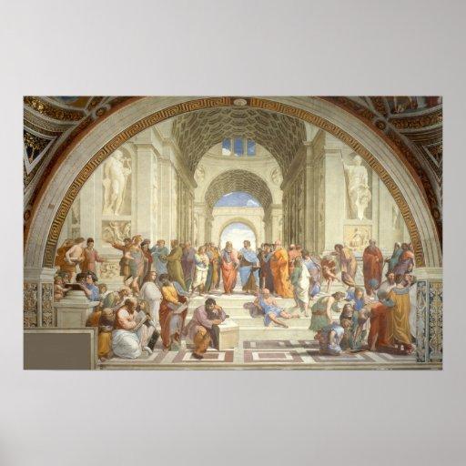 Raphael - School of Athens Print