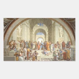 Raphael - School of Athens Rectangular Sticker