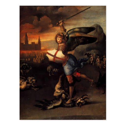 Raphael- St. Michael Post Cards