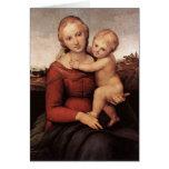 Raphael's Beautiful Madonna Card
