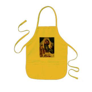 "Raphael's Classic ""Sistine Madonna"" (circa 1513) Kids Apron"