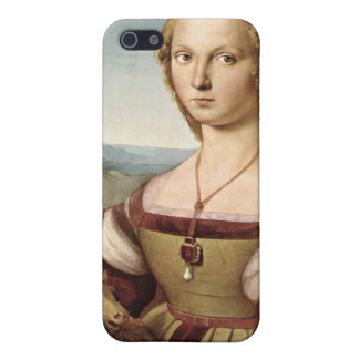 Raphael's Lady with a Unicorn iPhone Case iPhone 5 Covers