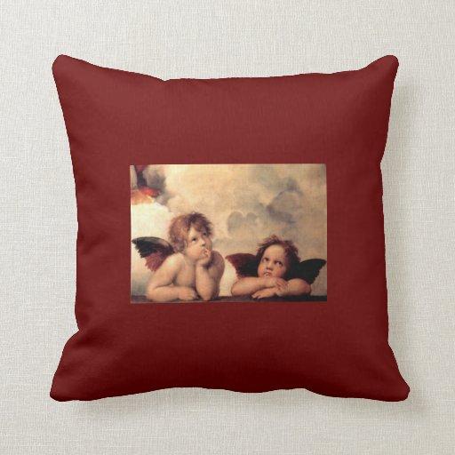 Raphael's Putti Pillows