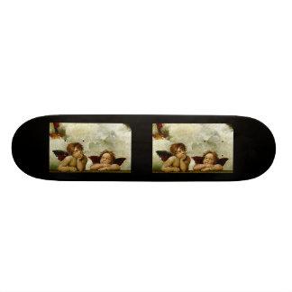 "Raphael's ""Sistine Madonna"" (circa 1513) (Detail) 20.6 Cm Skateboard Deck"