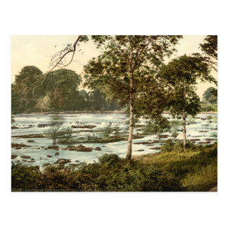 Rapids on the Shannon, County Limerick Postcard