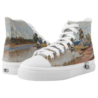 Rapp's Sunday Trip art shoes