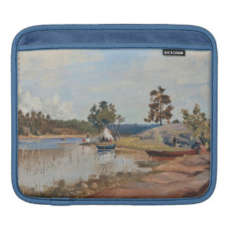 "Rapp's ""Sunday Trip"" iPad sleeve"