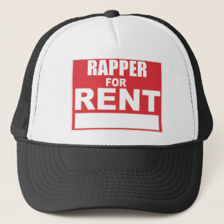 Rapper For rent Trucker Hat
