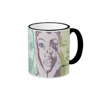 Rapprochement of cultures. ringer mug
