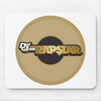 Rapstar Vinyl Mousepad