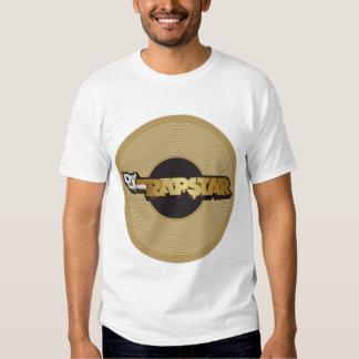 Rapstar Vinyl Tee Shirt