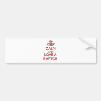 Raptor Bumper Stickers