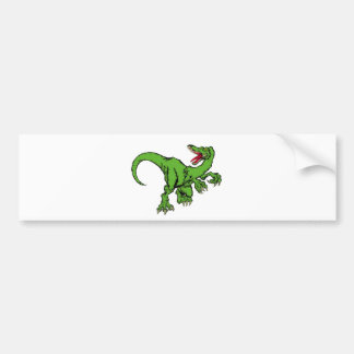 raptor color bumper sticker