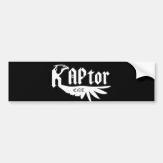 RAPtor ENT Bumper Sticker Car Bumper Sticker