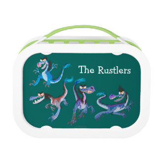 Raptor Group Graphic Lunchbox