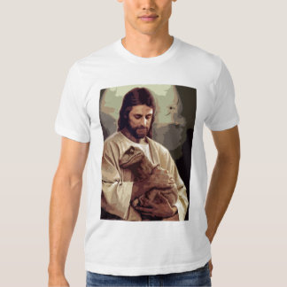Raptor Jesus T-shirts