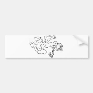 Raptor Rapture Bumper Sticker