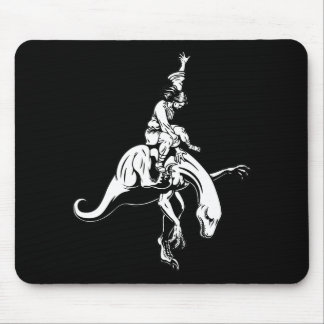 Raptor Rodeo Jesus Mouse Mat