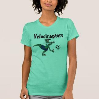 Raptor, soccer_ball, Velociraptors T-Shirt