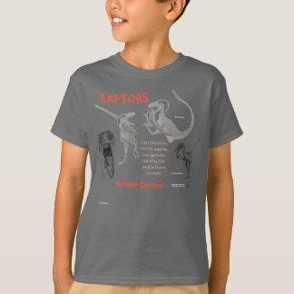 Raptors My Inner Dinosaur Kids Shirt Gregory Paul
