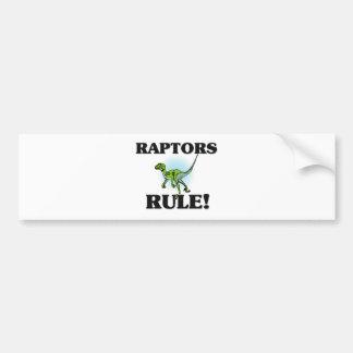 RAPTORS Rule Bumper Sticker